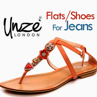 Ladies Shoes Fashion For Jeans Unze London Formal Summer Flats