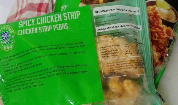 So Good Spicy Chicken Strip