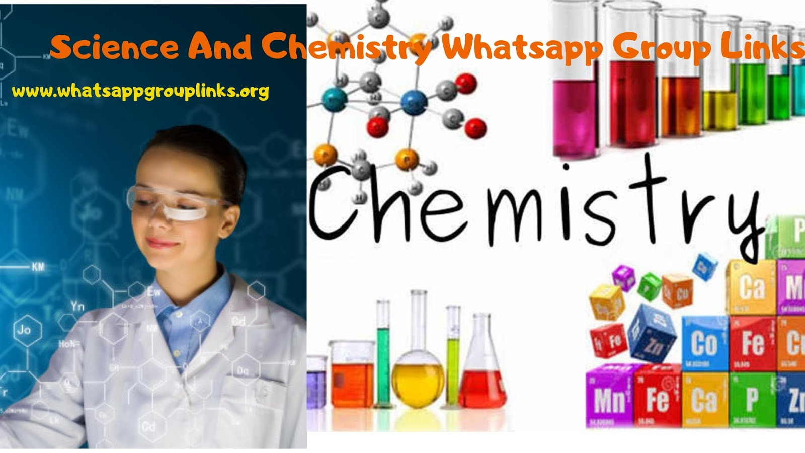 Join Science And Chemistry Whatsapp Group Links List - Whatsapp