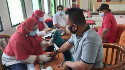 PMI Pinang dan Sahabat Uis Foundation Gelar Donor Darah