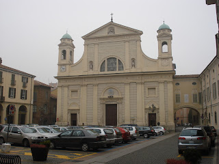 The Piazza Duomo in Tortona