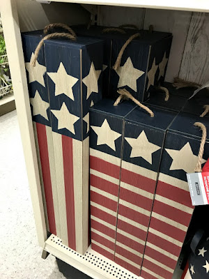 wooden firecracker for the fourth of July from Michaels