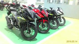 new Honda CBR ready for distribution
