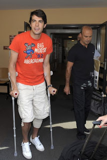 Image result for kaka real madrid injury