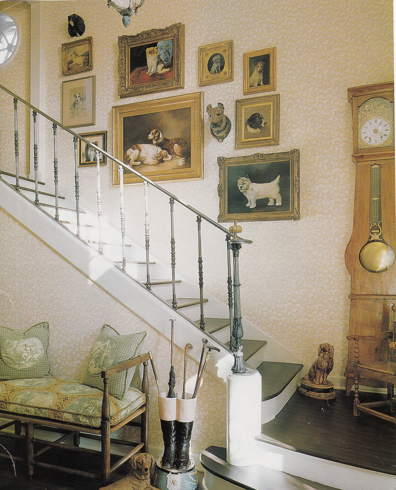 French Country Hallway Ideas Decor