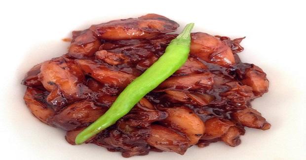Sweet Spicy Squid Recipe