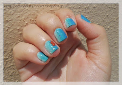Summer Sea nail art tutorial
