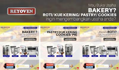 Paket Usaha roti/ cake/ pastry/ cookies/ kue kering