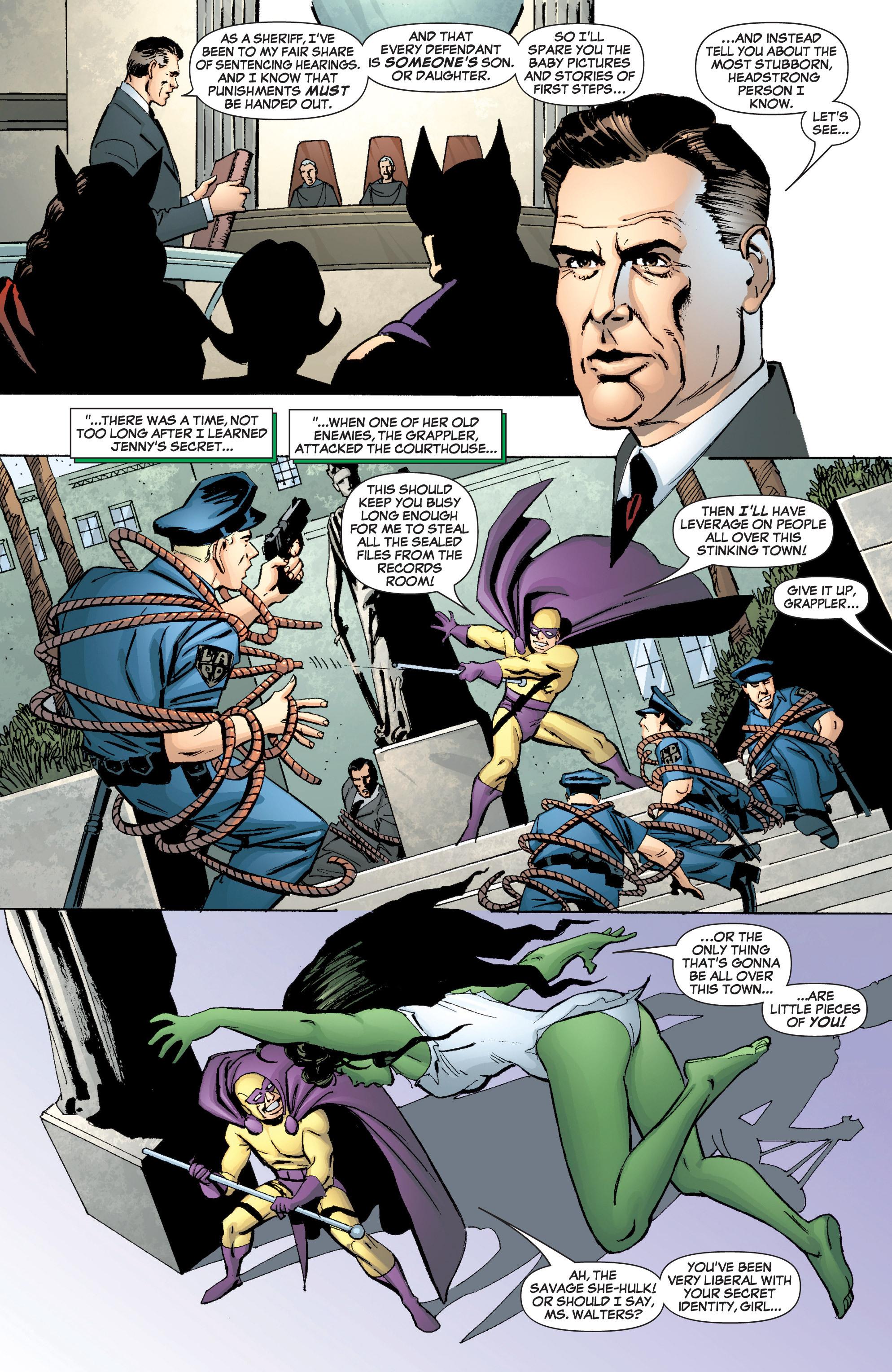 Read online She-Hulk (2005) comic -  Issue #3 - 11