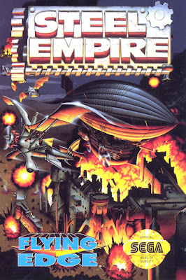 Steel Empire - SEGA Megadrive Genesis game cover