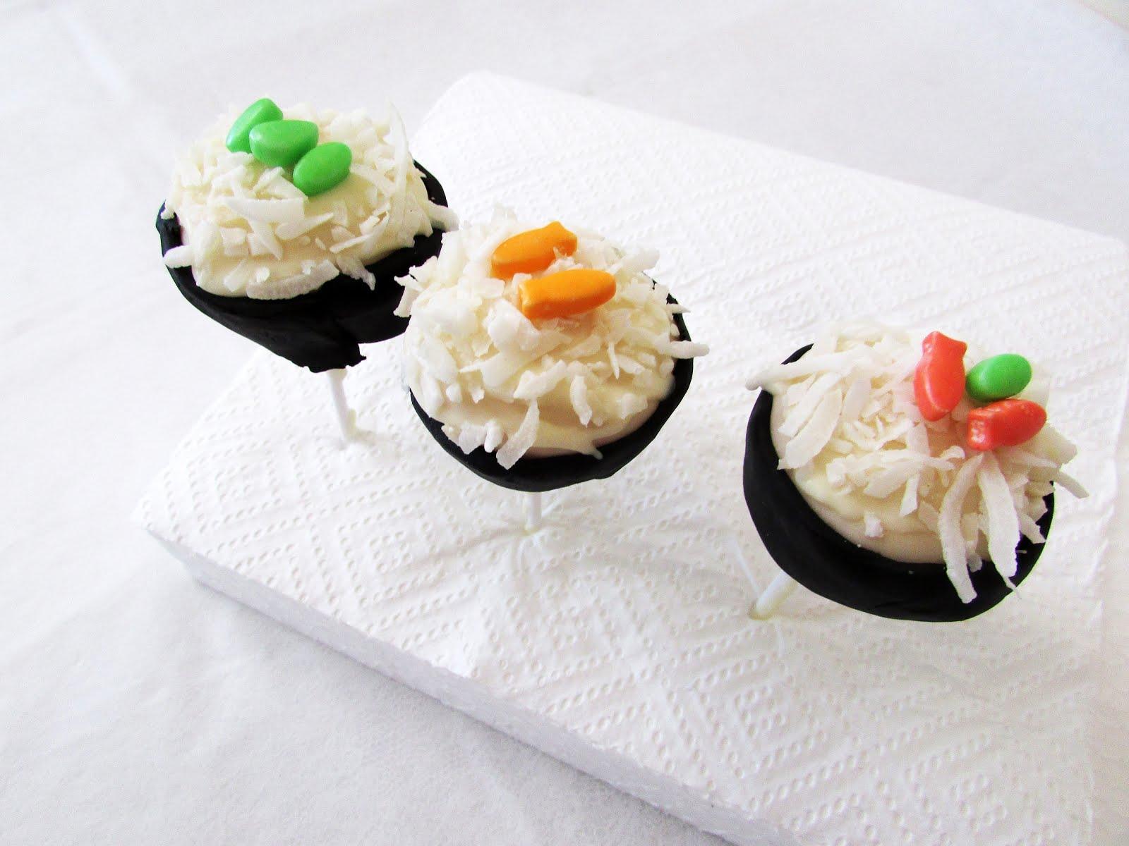 DIY Sushi Roll Cake Pops