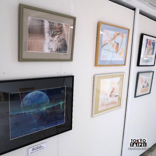 【貓小屋】鐵皮屋小藝廊 鉛筆彩繪喵星人與噴漆藝術星球