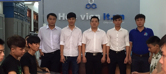 Khai giảng khóa học đào tạo nghề sửa chữa laptop cho học viên đến từ Thái Nguyên Tuyên Quang Hà Giang