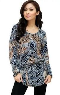 Model Baju Batik Anak Muda Lengan Panjang