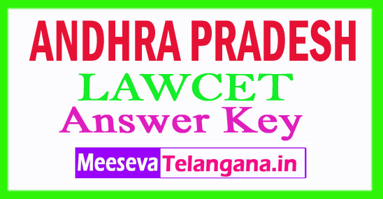 AP LAWCET Answer Key 2018 Download
