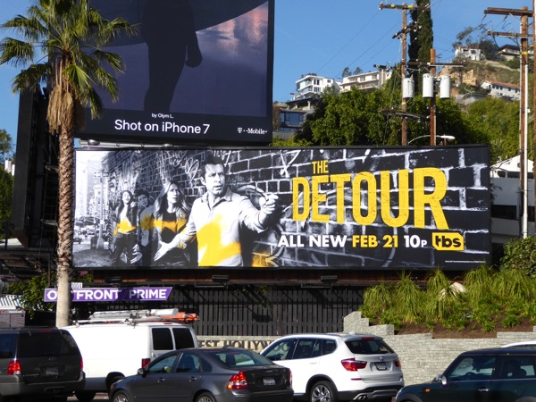 Detour season 2 billboard