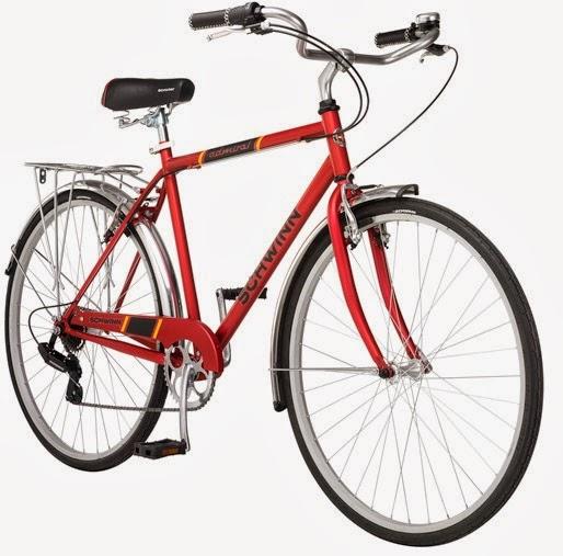Cheap Commuter Bikes: Schwinn Admiral 700c 7 speed, fenders, rack $159