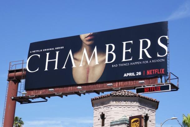 Chambers series premiere billboard