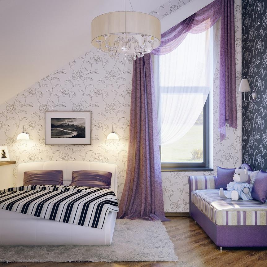 quarto de adolescente com cama de casal, Decorar a casa de forma simples, decoração com amor.