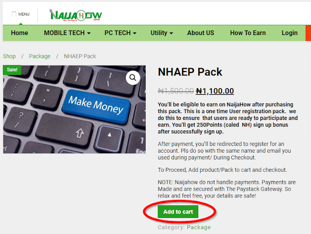 Naijahow Activity Earning Program: Easiest Way To Make 2000