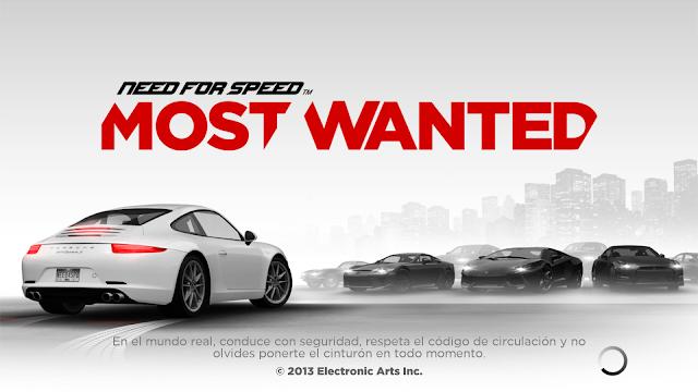 """Advertencia en el videojuego Need for Speed Most Wanted: """"En la vida real conduce con seguridad, respeta el código de circulación y no olvides ponerte el cinturón en todo momento"""""""
