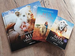Recenzja książki mia i biały lew na blogu atrakcyjne wakacje z dzieckiem
