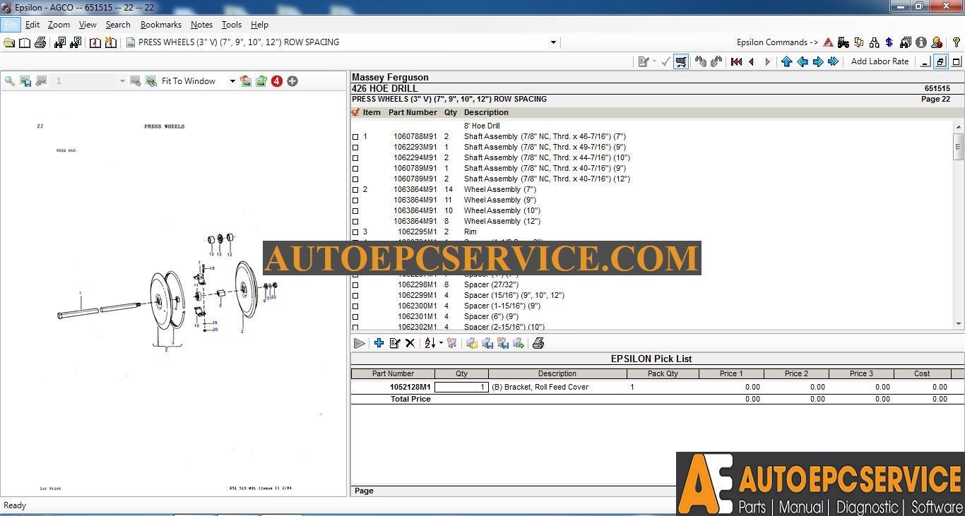 autoepcserviceheavyequipment: Mey Ferguson NA Parts ... on