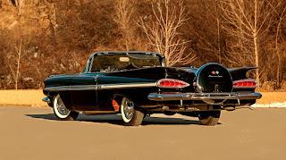 1959 Chevrolet Impala Convertible Rear