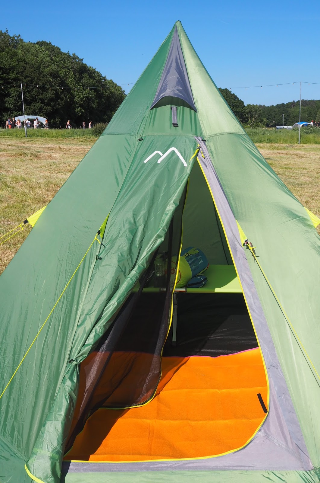 my GO Outdoors #GOcation camping tent