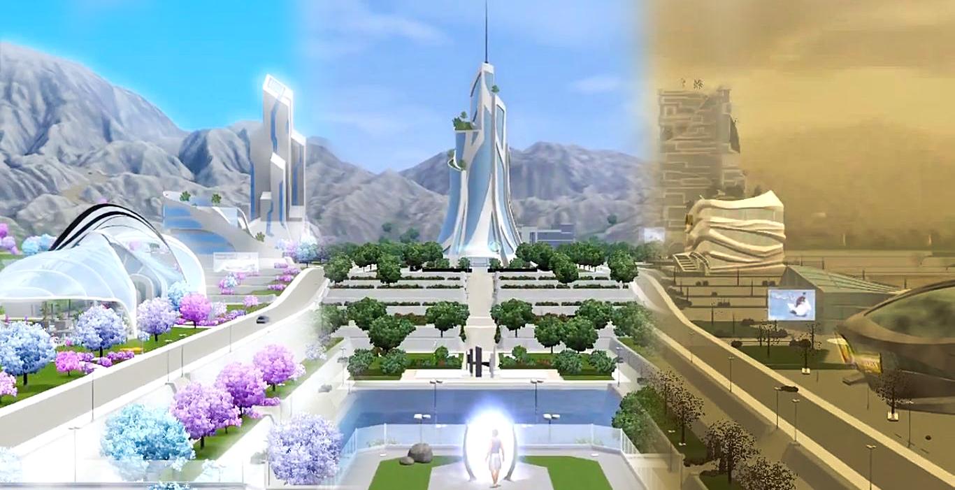 Utopía, Normal o Distopía? - Los Sims 3 Hacia el Futuro