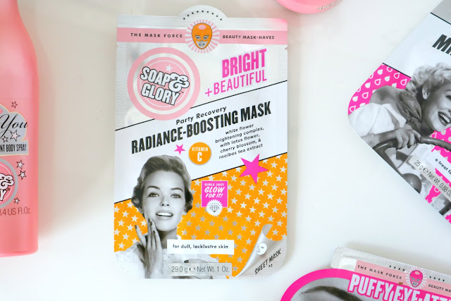 Soap and Glory radiance boosting mask review