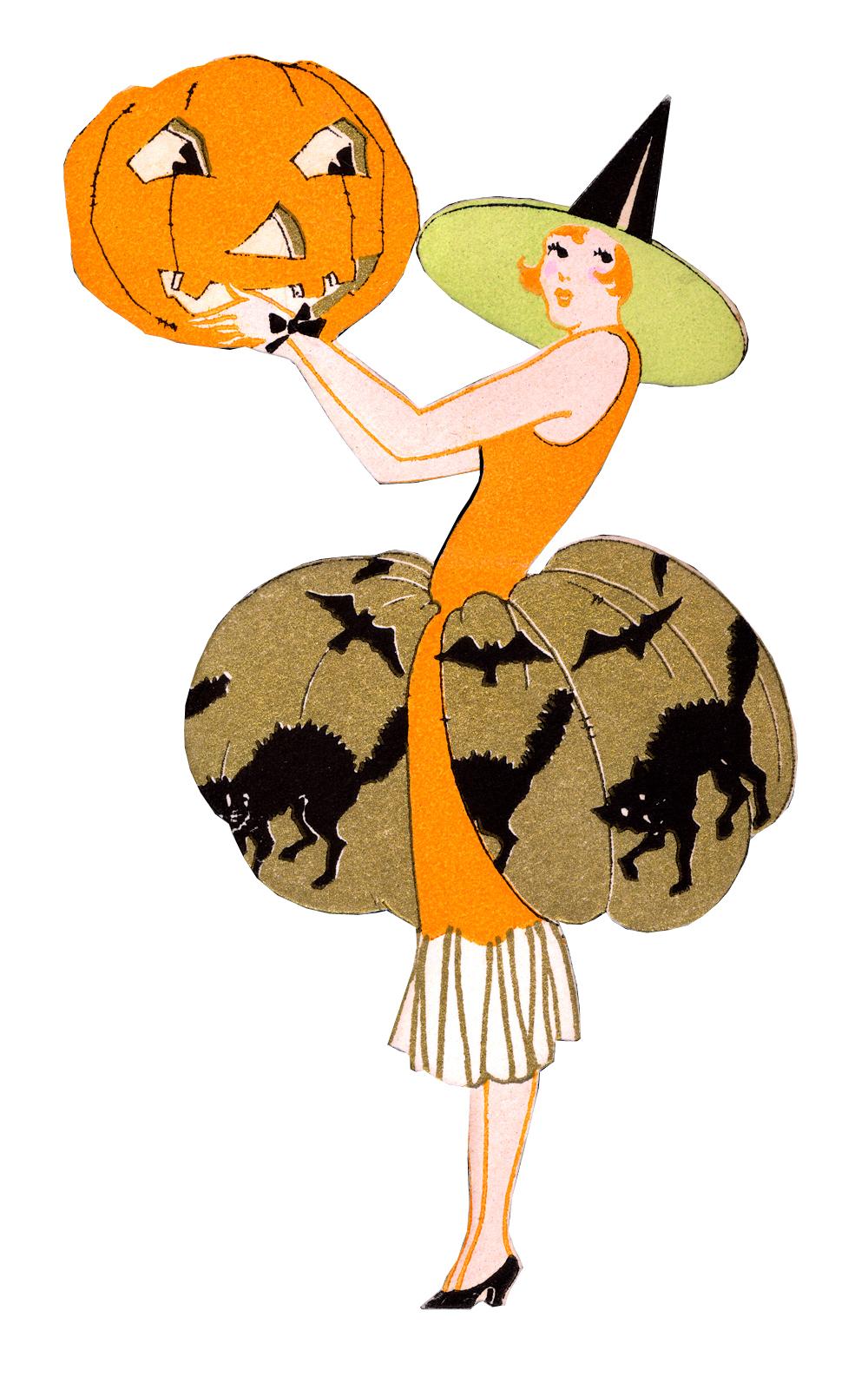 Quirky Artist Loft: Free Vintage Witch Clip Art