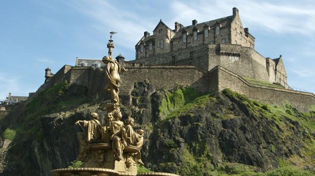 El Castillo de Edimburgo, viajes y turismo