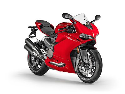 2016 Ducati 959 Panigale Super Bike red color image