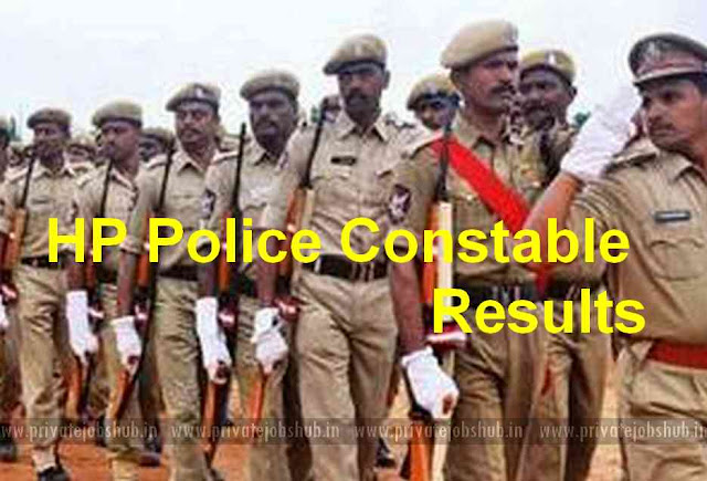 HP Police Constable Results