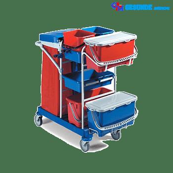 Troli Alat Kebersihan (Janitor Trolley GM-SC30)