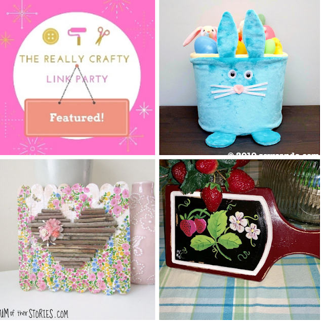 The Really Crafty Link Party #165 featured posts