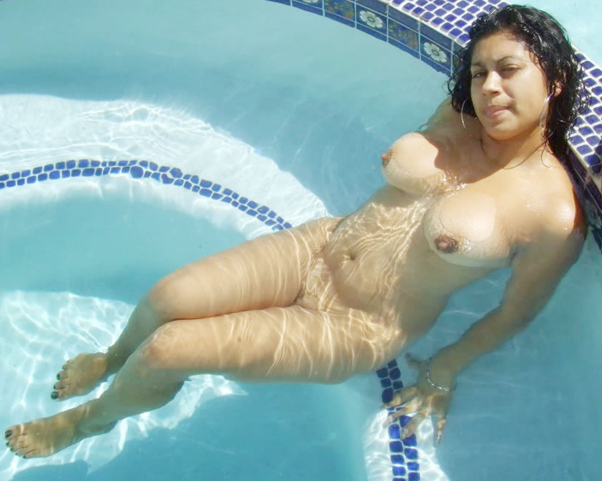 Swimming pool bedroom naked