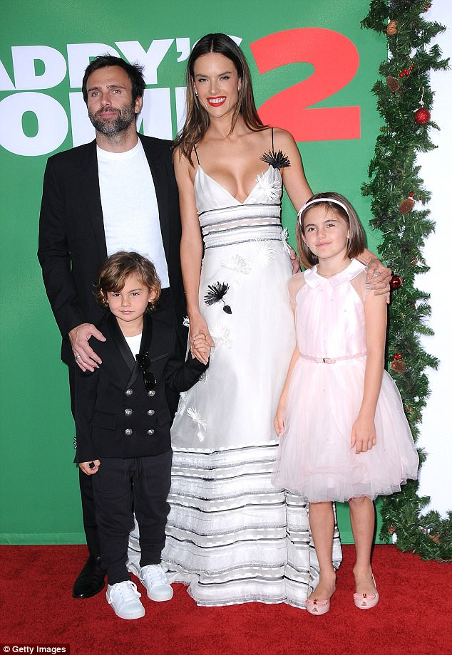 Alessandra Ambrosio takes family at Daddy's Home 2 premiere in LA