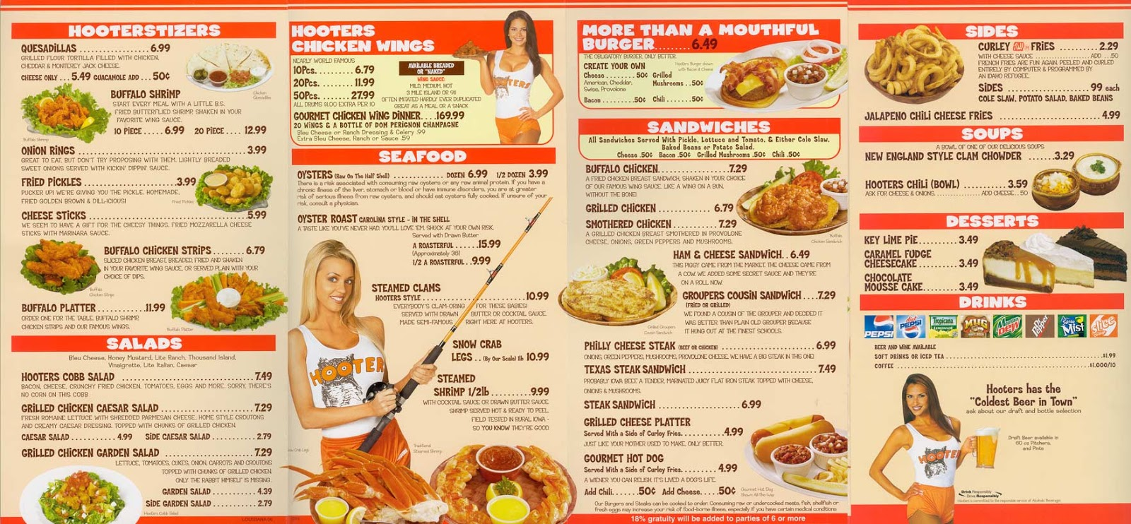 Is Hooters A Good Restaurant