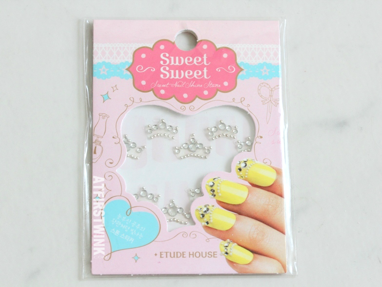 Review: Etude House Sweet Nail Shine Stone - Princess Crown