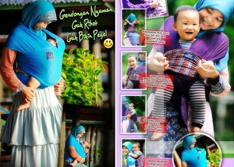 Jual Gendongan Bayi Hanaroo Baby Wrap Murah 085694940666
