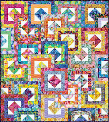Free pattern day!  Kaffe Fassett Quilting and Sewing