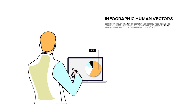 Free Powerpoint templates with Infographic Human Vectors Slide2