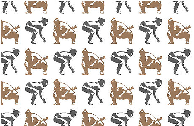 Wonderfully Whimsically Witty Wallpaper By Graphic Designer Aimee Wilder