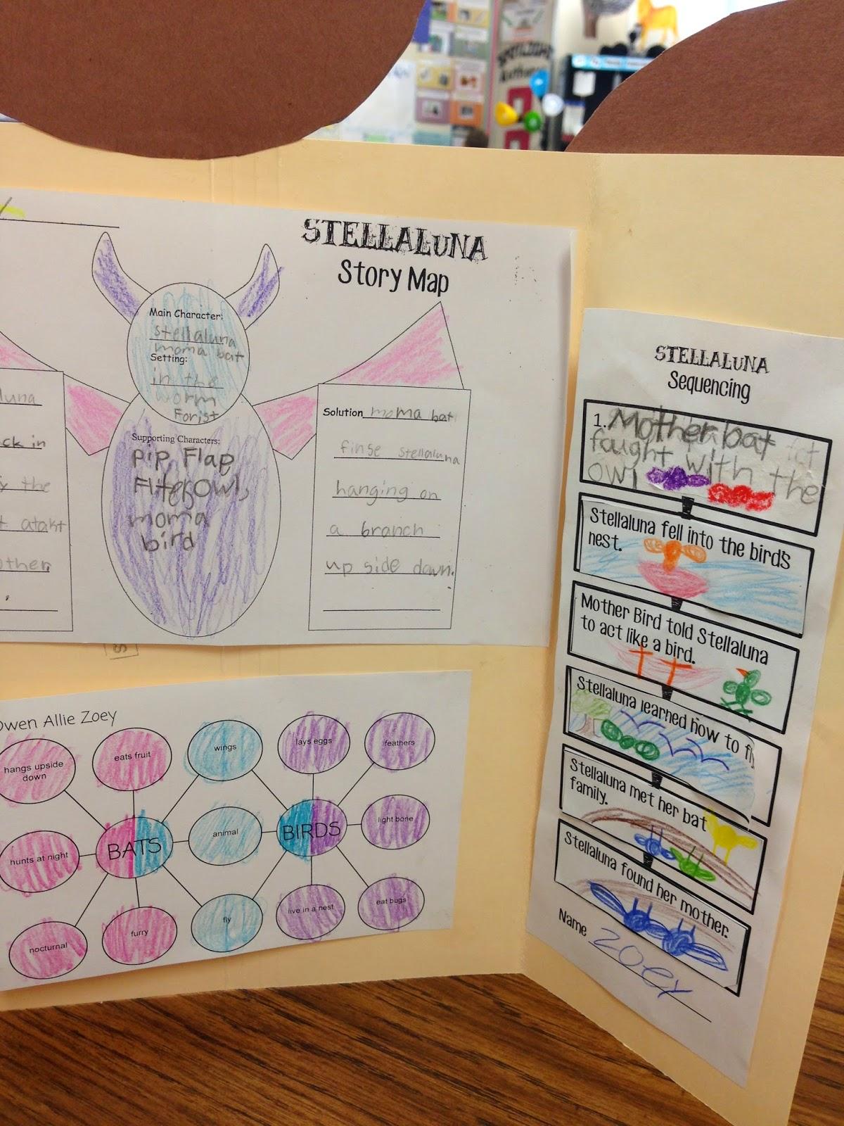 Stellaluna Venn Diagram Activity Meyer E47 Wiring Mrs Megown 39s Second Grade Safari Literacy