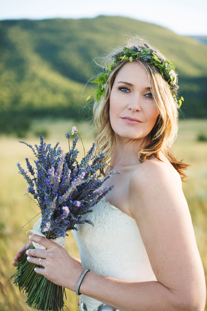 Photography: Macy Spencer Photography / Lavender Wedding Bouquet