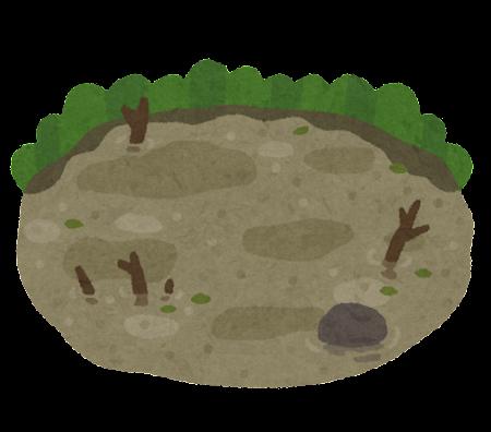 沼のイラスト