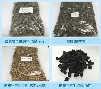 廢棄物衍生固體燃料