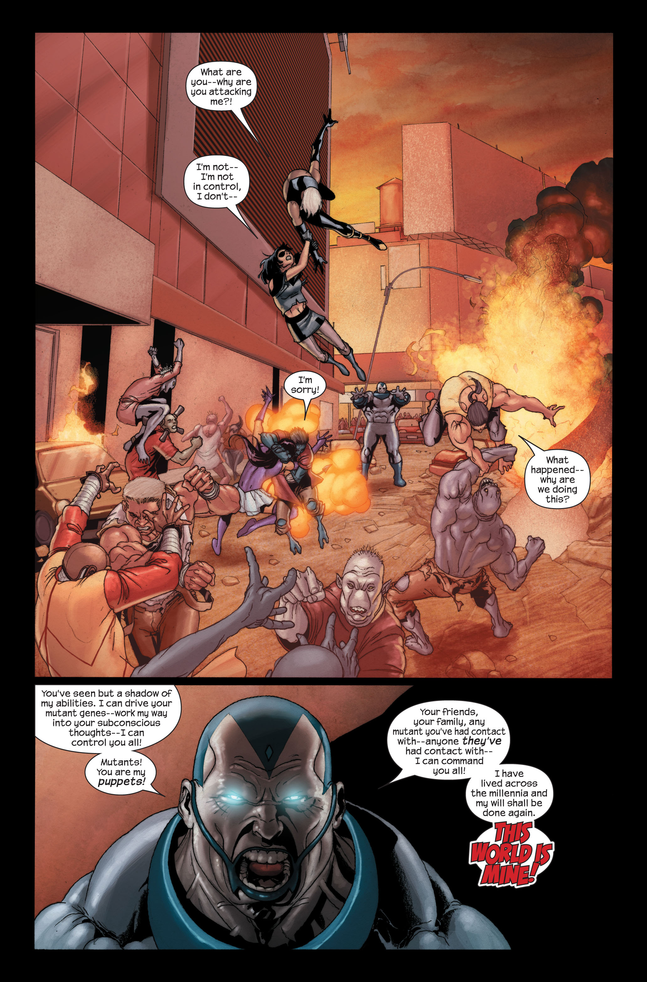 Read online Ultimate X-Men comic -  Issue #91 - 14